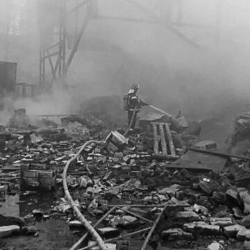 Стався вибух на пороховому цеху біля міста Рязань