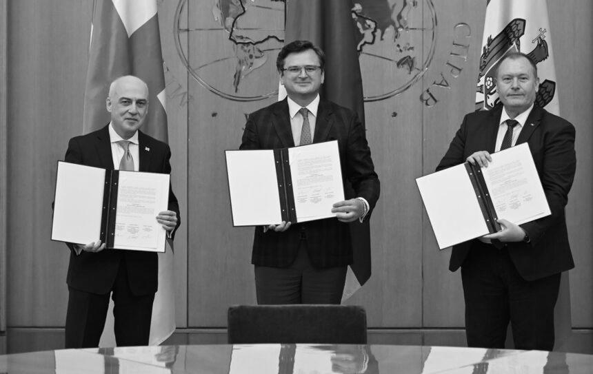 Подальше зближення з ЄС обговорять Україна, Грузія та Молдова