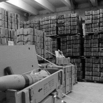 Розпочато будівництво нових сховищ для боєприпасів